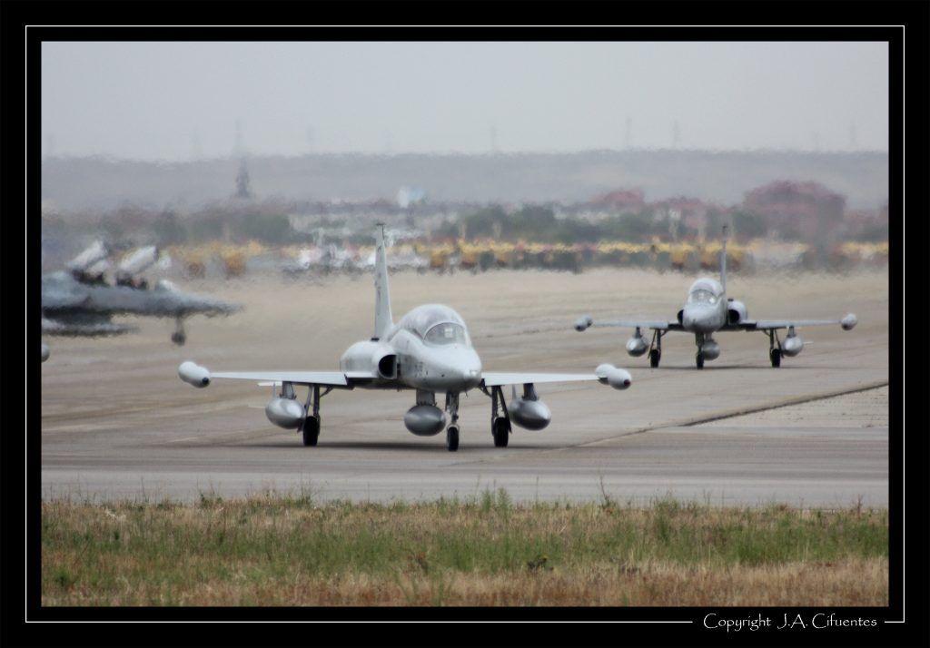 Northrop F-5M del Ala 23 del Ejercito del Aire