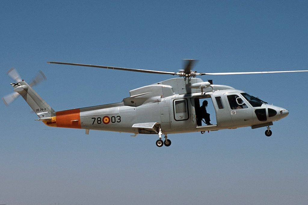 Sikorsky SH-76 del Ejercito del Aire.