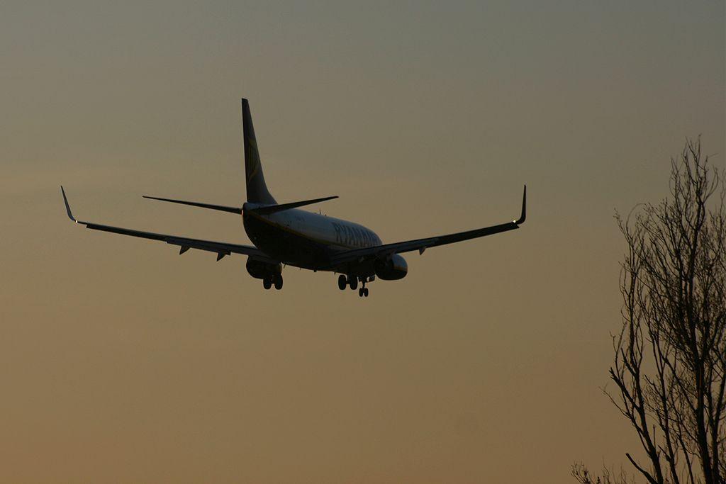 Boeing 737-8AS de Ryanair.