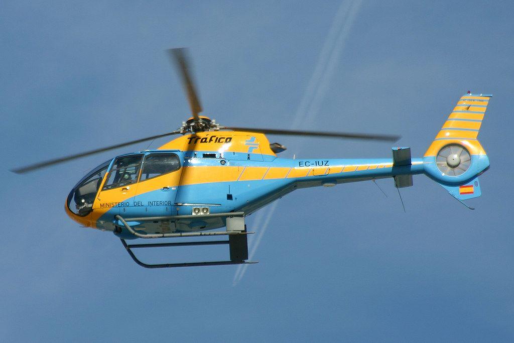 Eurocopter EC120-B Colibri (EC-IUZ) de la Dirección General de Tráfico