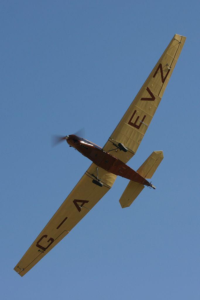 British Aircraft Swallow II (EC-IMP).