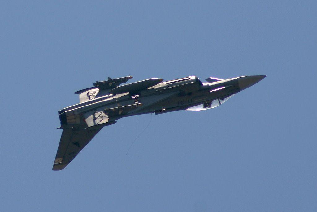 Aeromodelo de radio control del Eurofighter