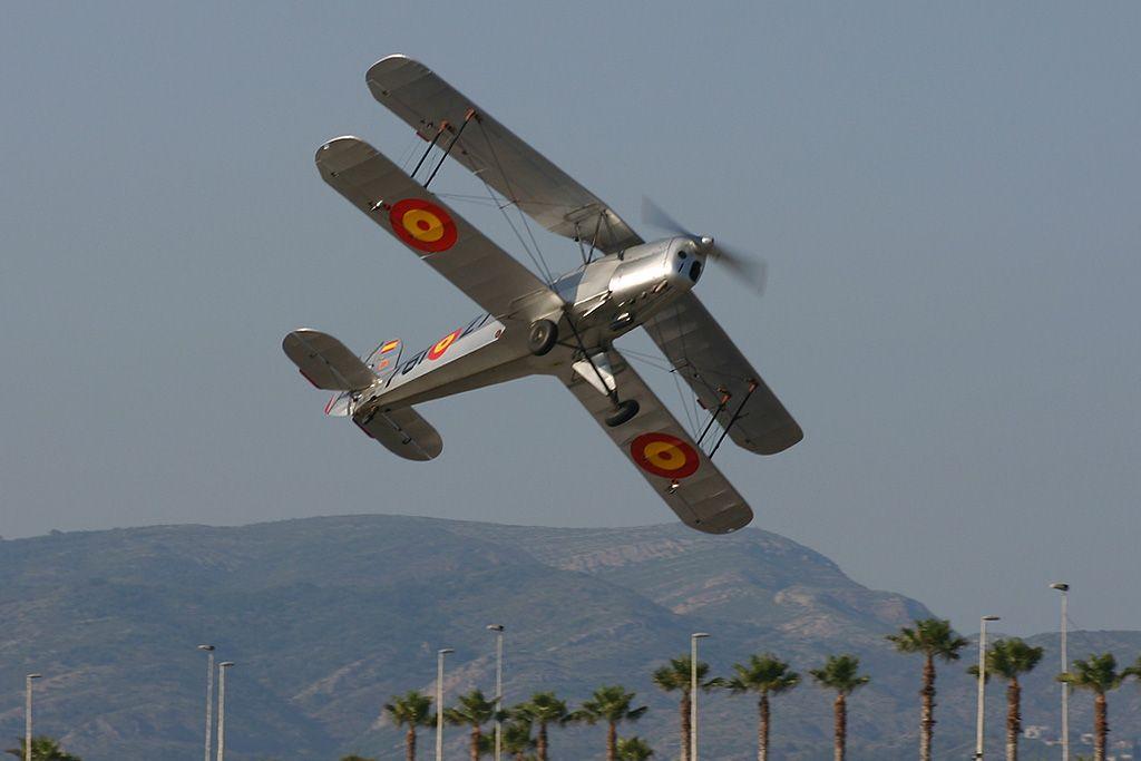 CASA (Bücker) C1.131-E2000 Jungmann de la Fundación Aérea de la Comunidad Valenciana