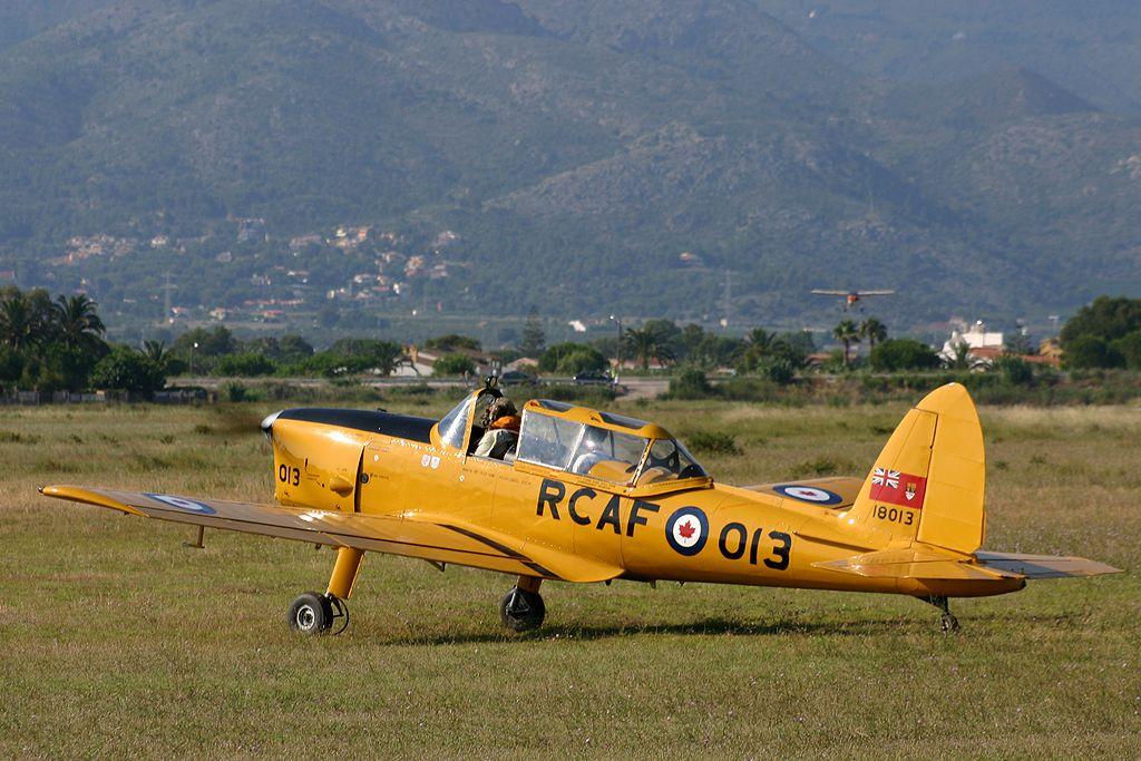 De Havilland DHC-1Chipmunk de la Fundación Infante de Orleans