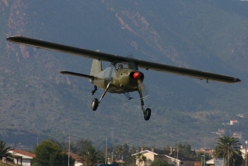 Dornier Do27-A5 de la Fundación Aérea de la Comunidad Valenciana