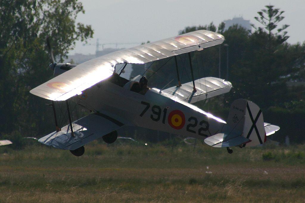 CASA (Bücker) C1.131-E2000 Jungmann del Real Aero Club de Valencia
