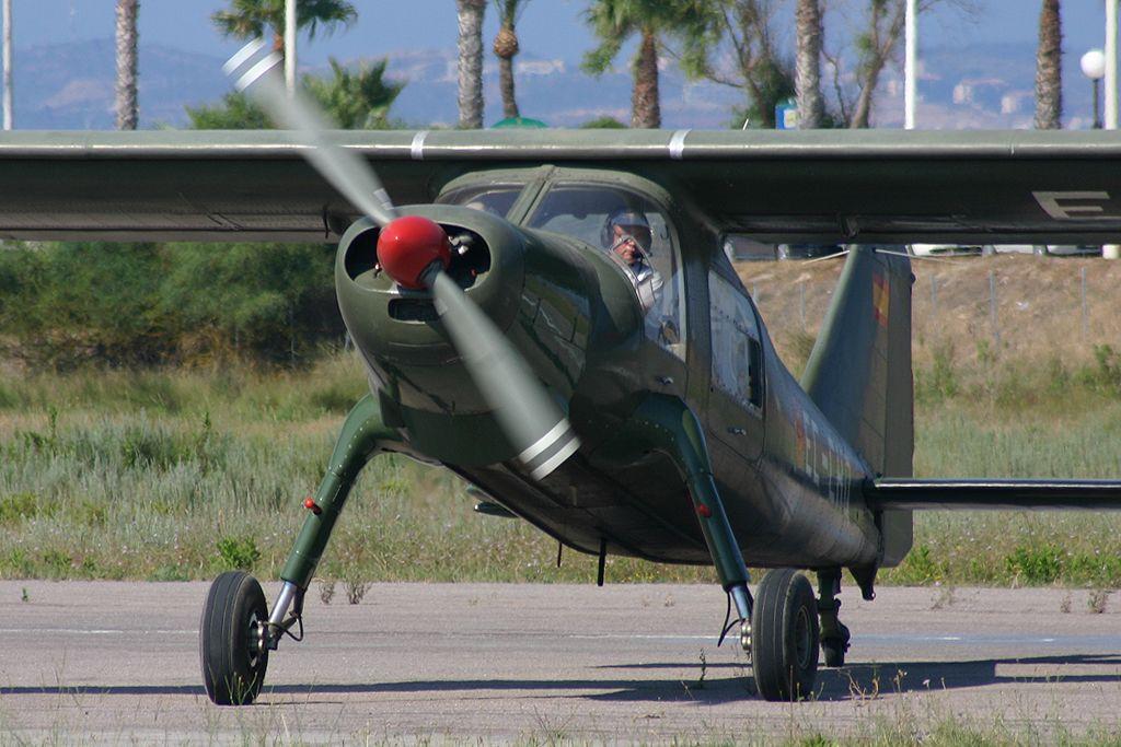 Dornier Do27-A5 de la Fundació Parc Aeronautic de Catalunya