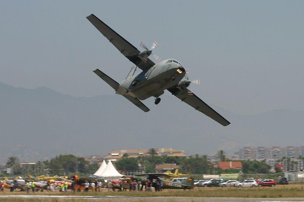 CASA C-212 Aviocar del Ejercito del Aire