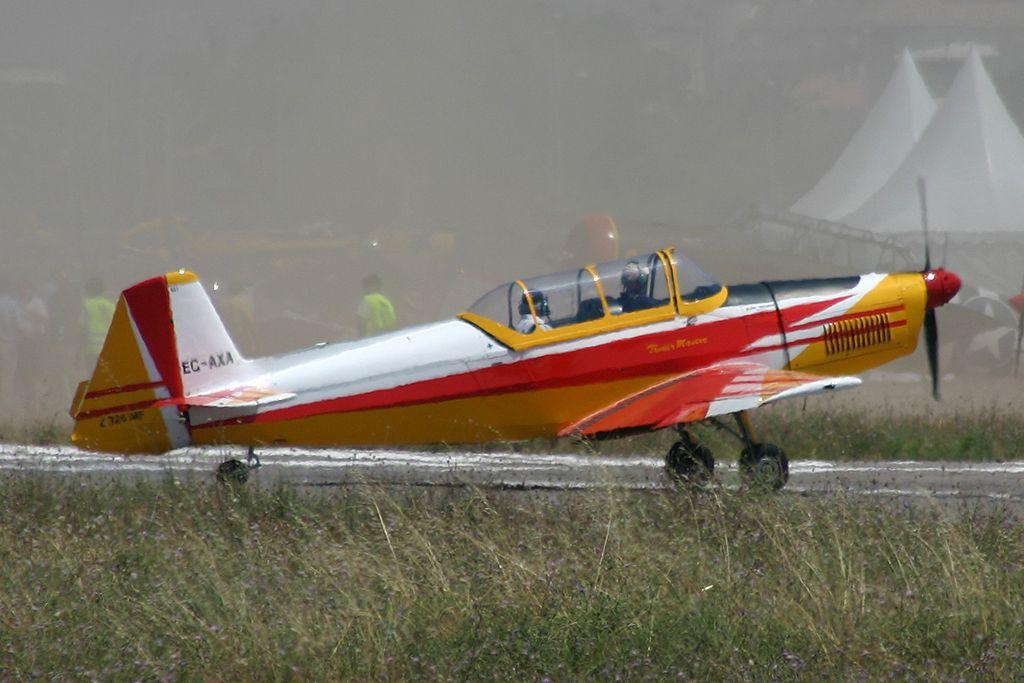 Zlin Z326-A Trener-Master de la Fundació Parc Aeronautic de Catalunya