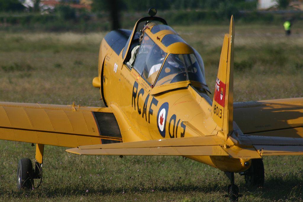 De Havilland DHC-1 Chipmunk de la Fundación Infante de Orleans