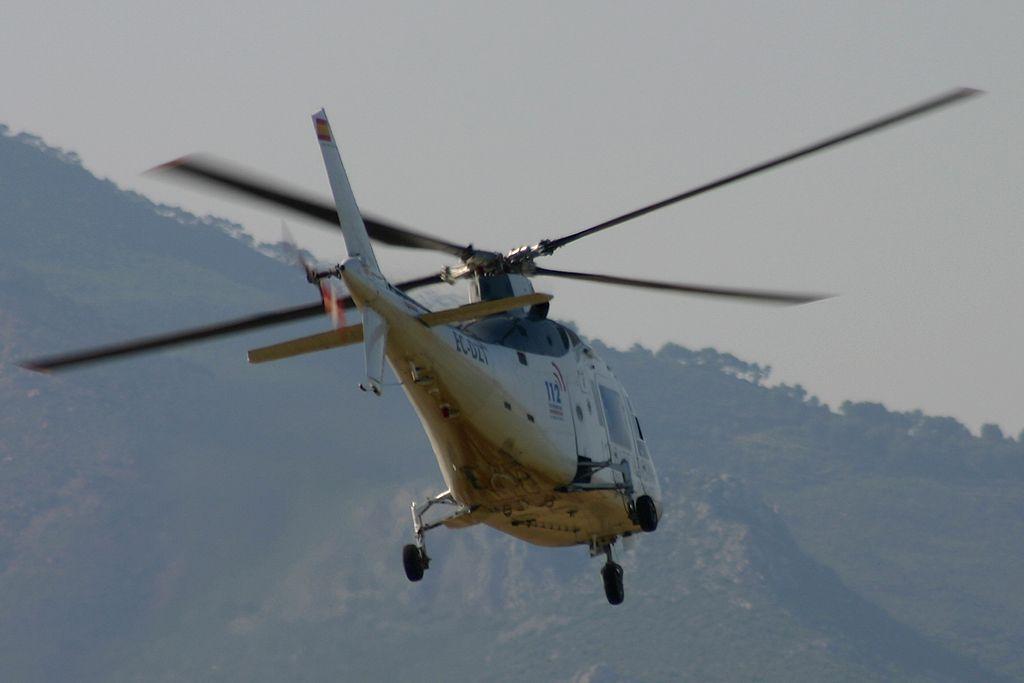 Agusta A-109A Hirundo de Helisureste operando para el 112 de la Comunidad Valenciana
