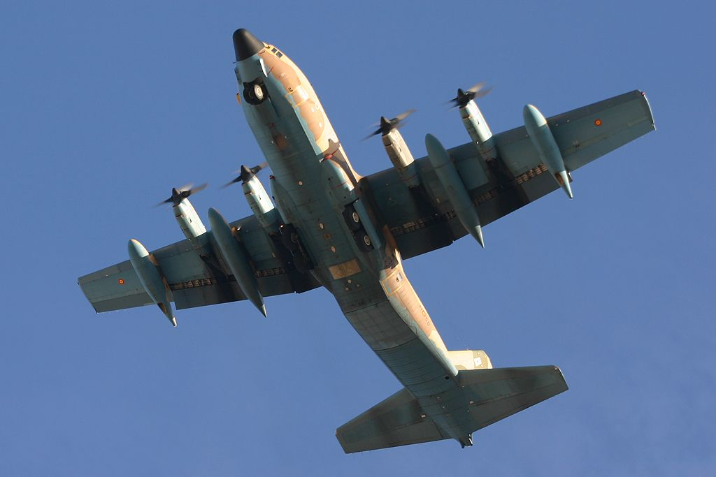Lockheed KC-130 Hercules del Ala 31.