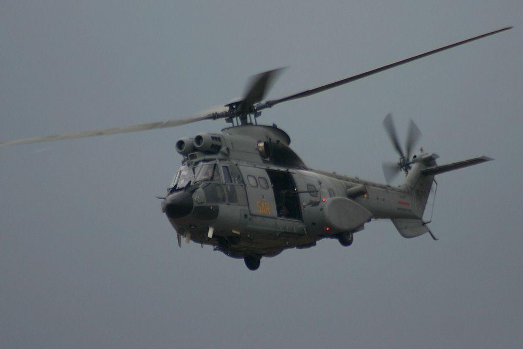 """Eurocopter SA.332 """"Super Puma"""" del Ejercito del Aire"""