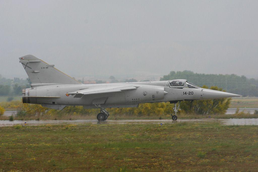 Dassault Mirage F-1 del Ala 14 del Ejercito del Aire