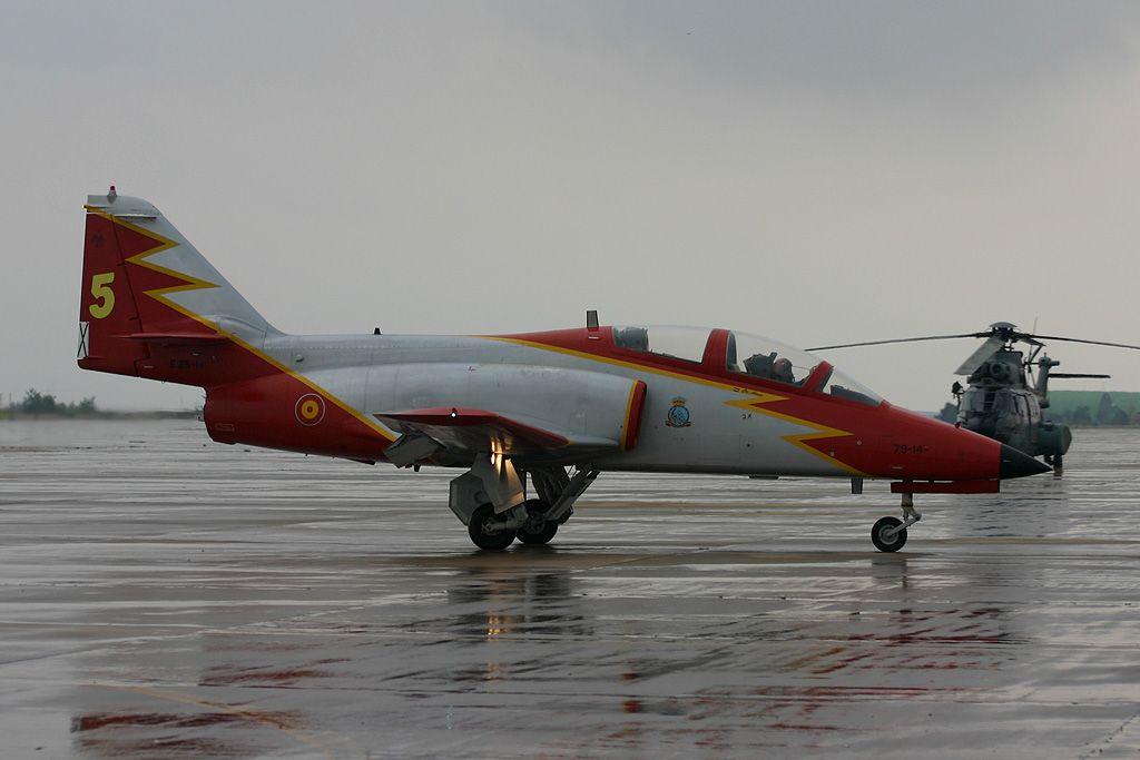 CASA C-101 Aviojet de la Patrulla Águila