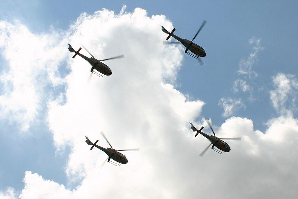 Eurocopter EC-120B Colibri del Ejercito del Aire.