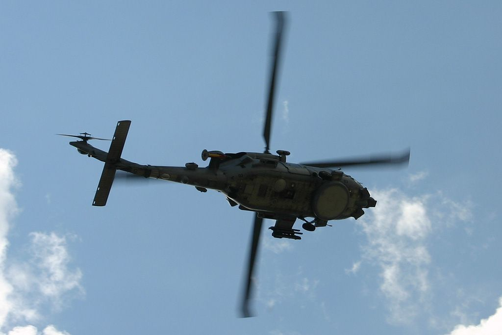 Sikorsky SH-60B Sea Hawk de la Tercera Escuadrilla de la Armada.